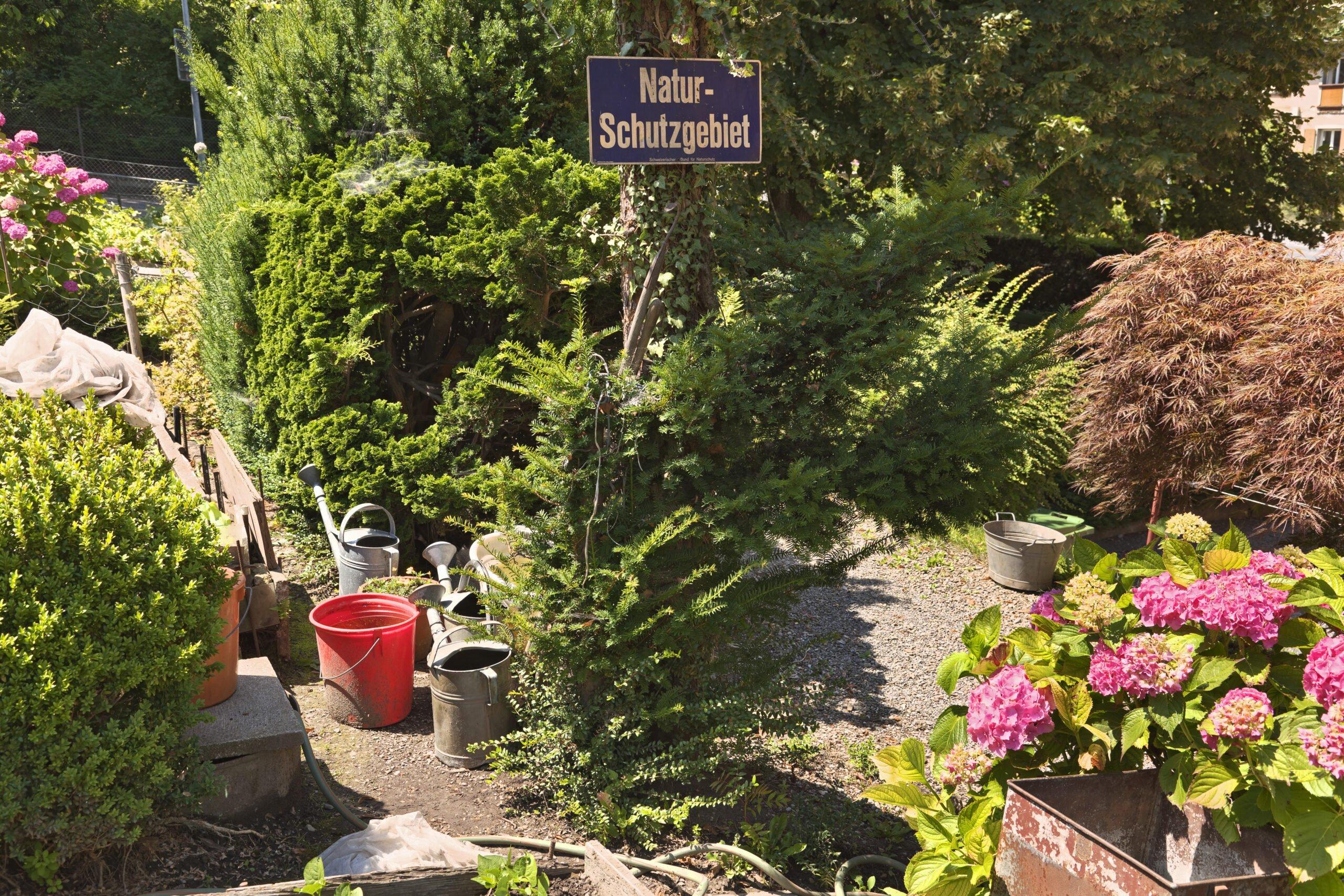 Gärten in Wohnsiedlungen