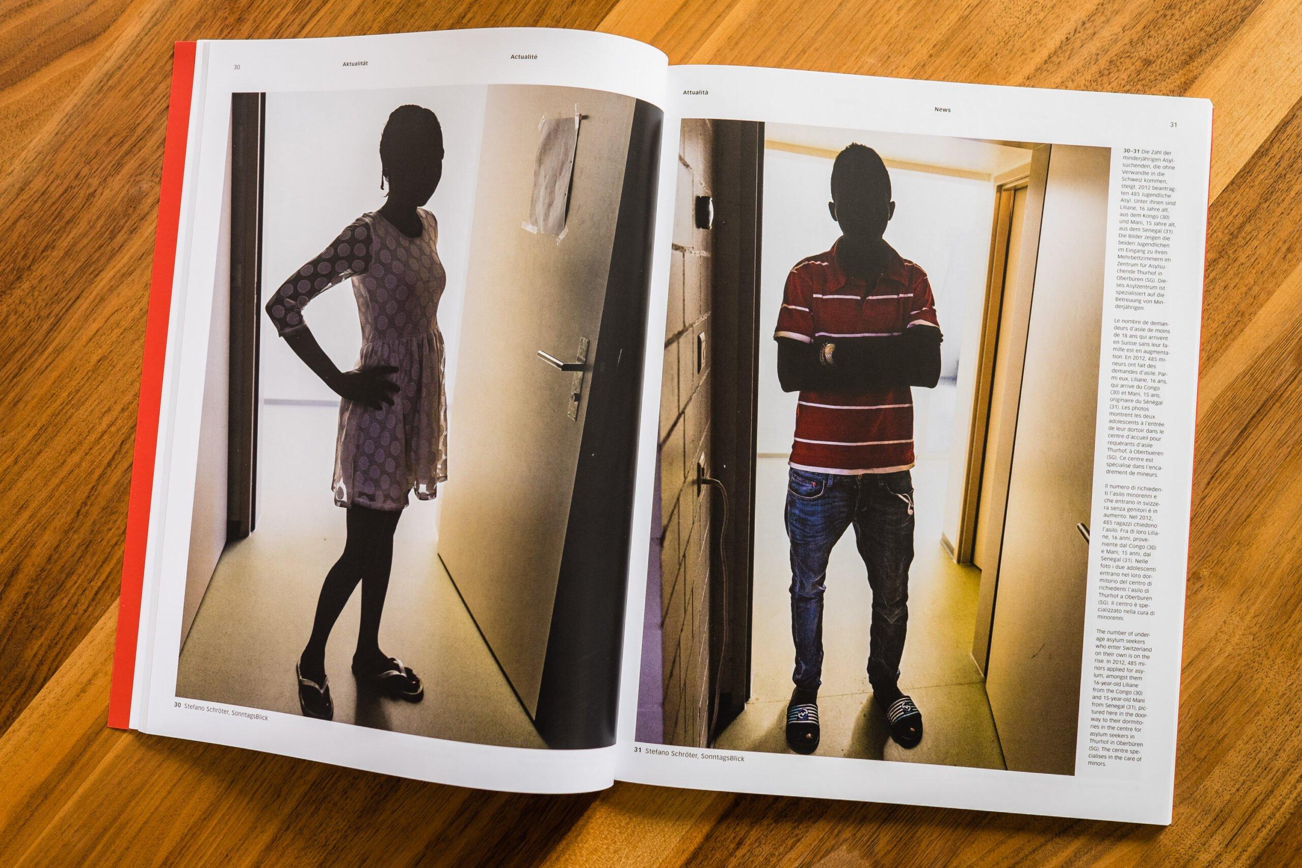 Portraits minderjähriger Aylsuchender