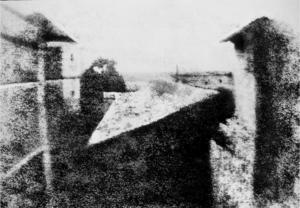 Die vermutlich erste Fotografie