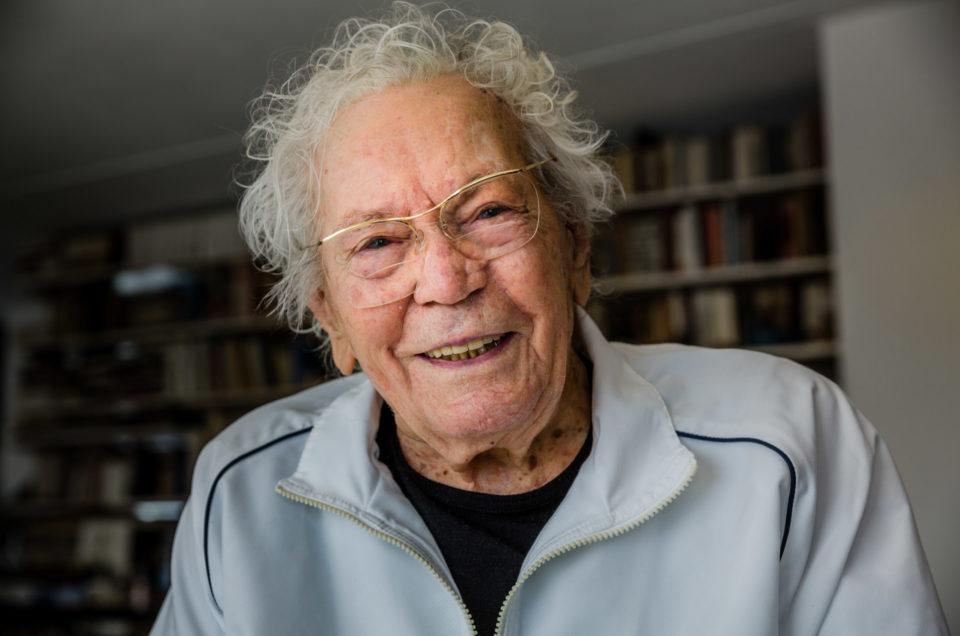 Der luzerner Künstler Hans Erni