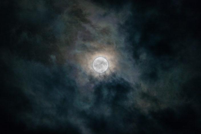 Vollmond Mondlicht Stadt Luzern