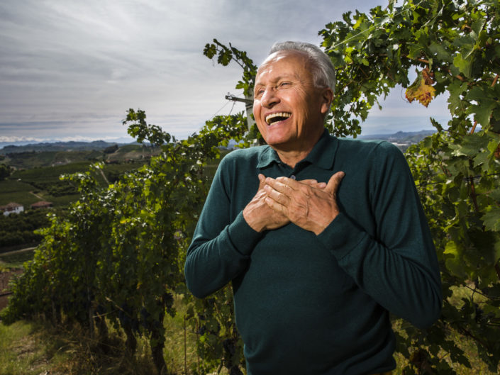 Weinproduzent Angelo Gaja