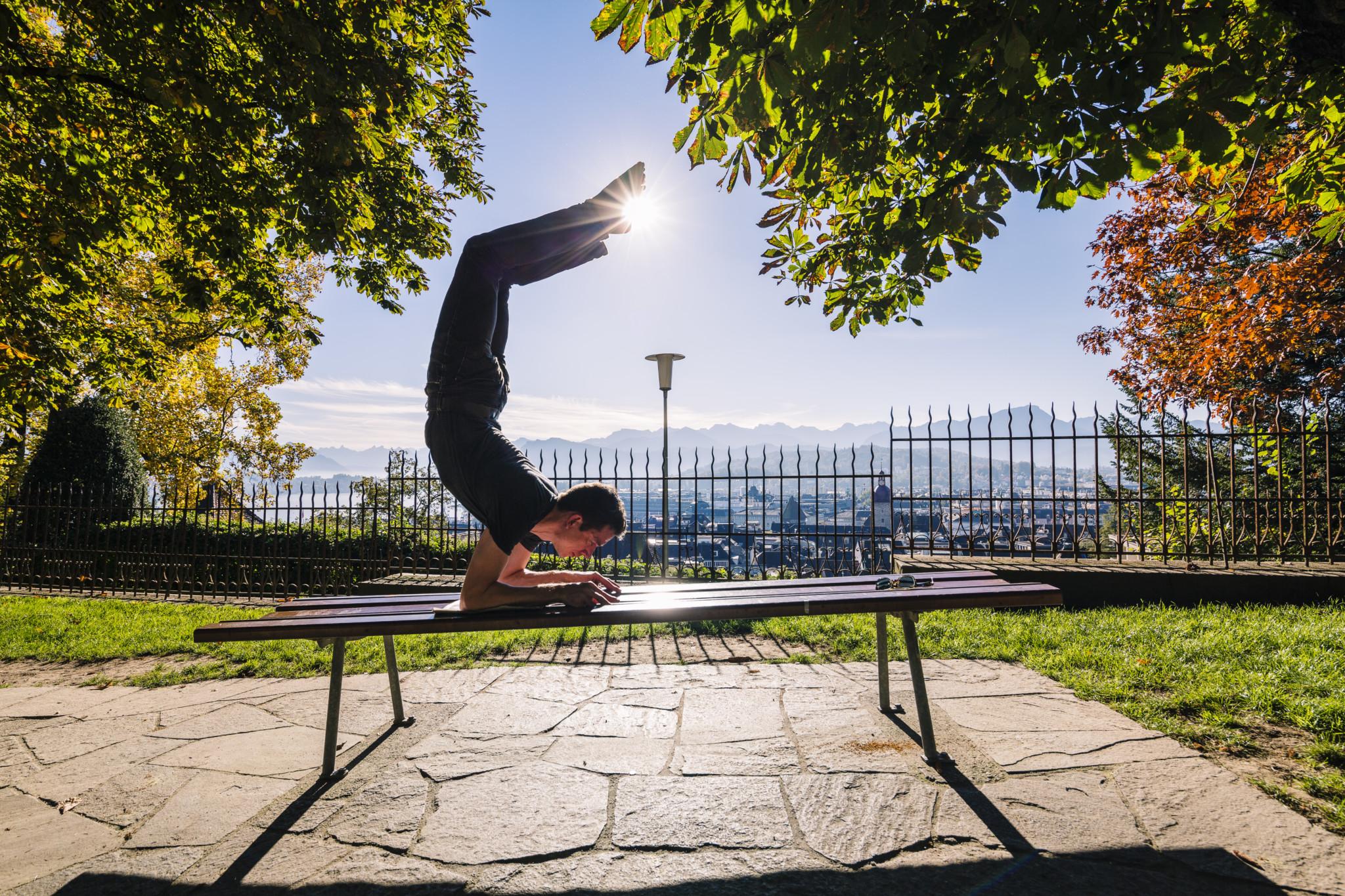 Yogapostkarte 2014