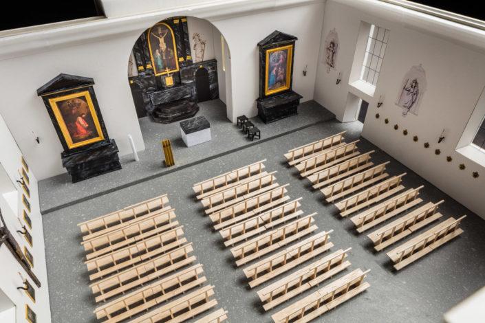 Modellfotografie Peterskapelle Luzern