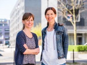 Portrait von Katrin Burri und Zilia Spaeni Luniq wohnen wie wir