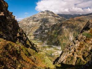 Das Val Tremola im Tessin