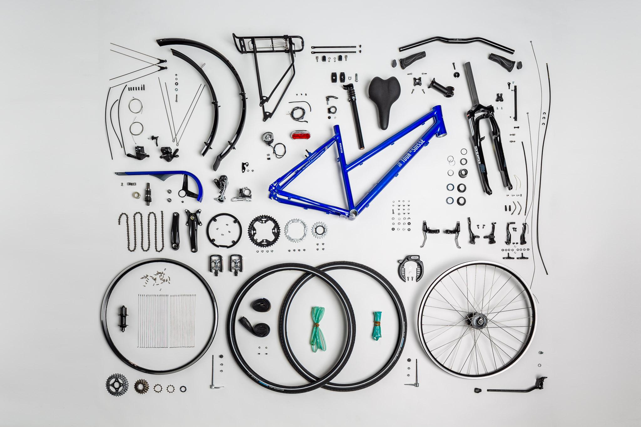 Einzelteile Citybike