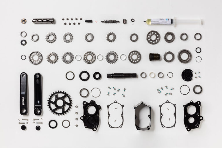 Einzelteile Pinion Getriebe