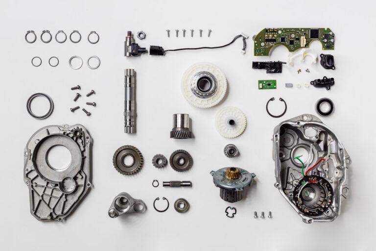 Einzelteile Boschmotor
