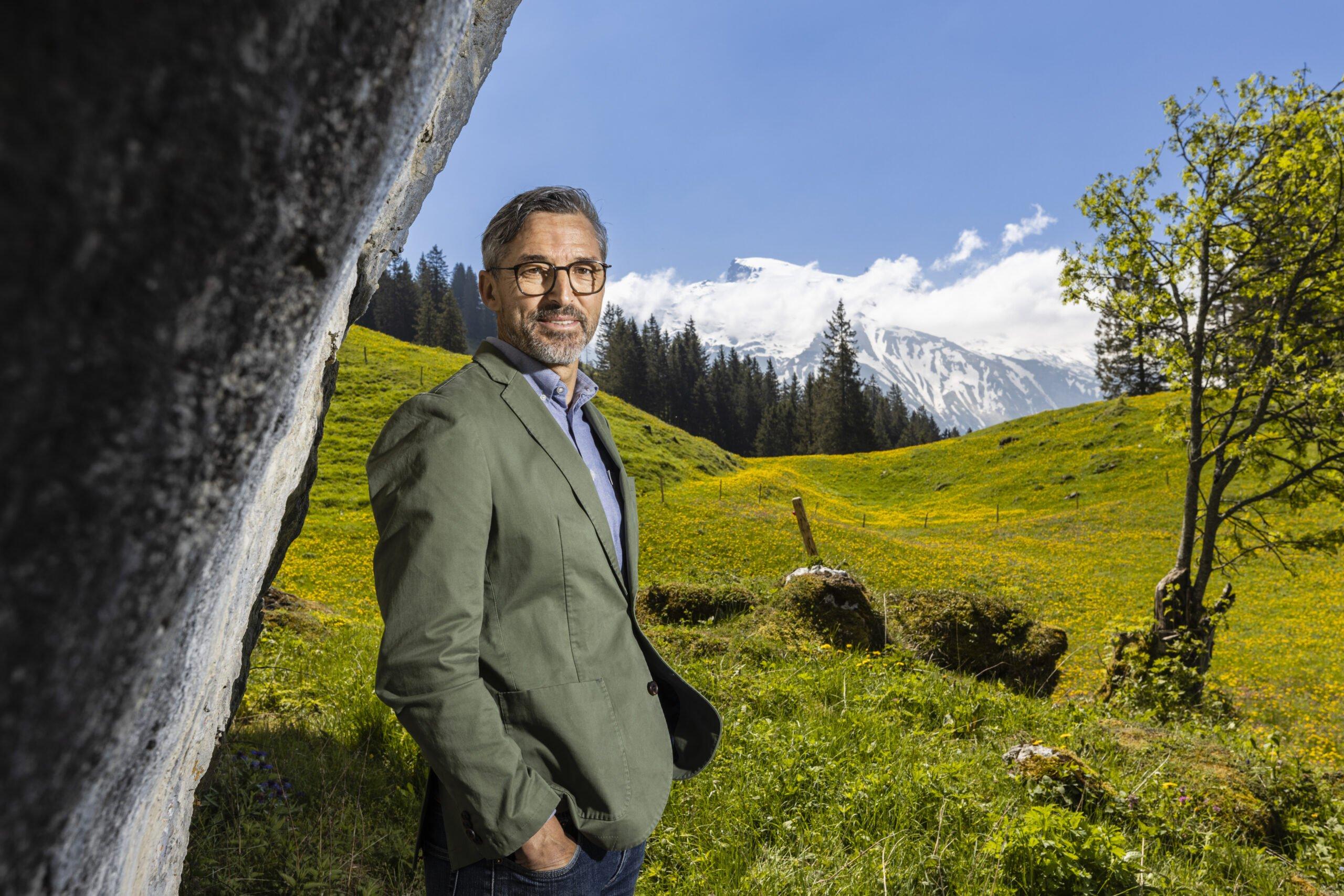Engelberg Tourismus Direktor Andres Lietha