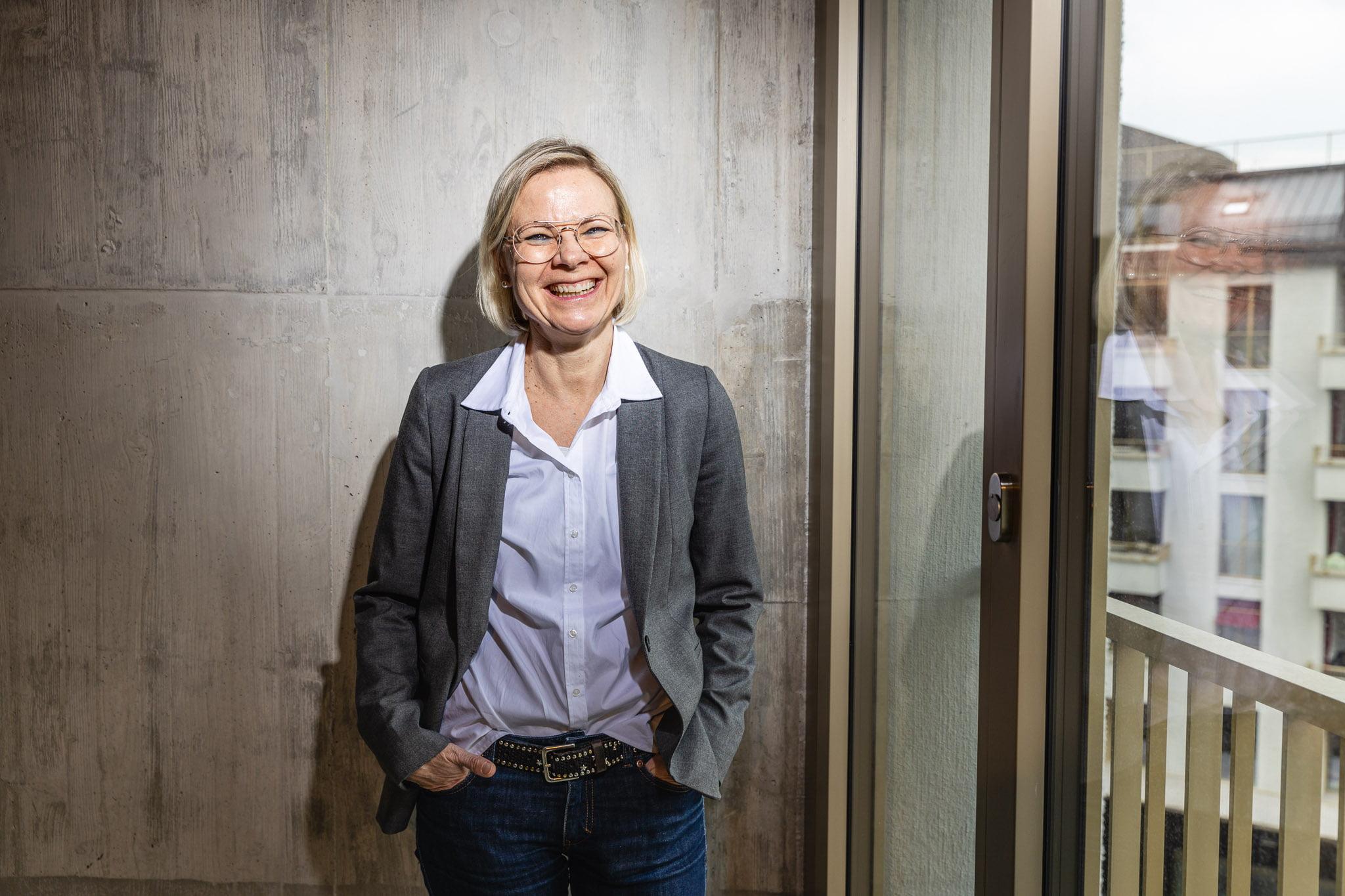 Portrait Priska Jenni Architektin