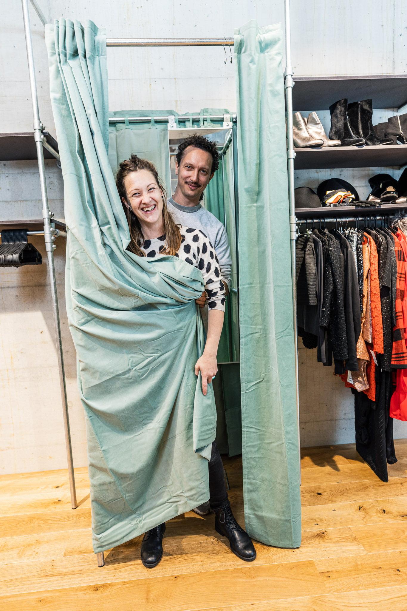 Eröffnung Kleiderflohmarkt